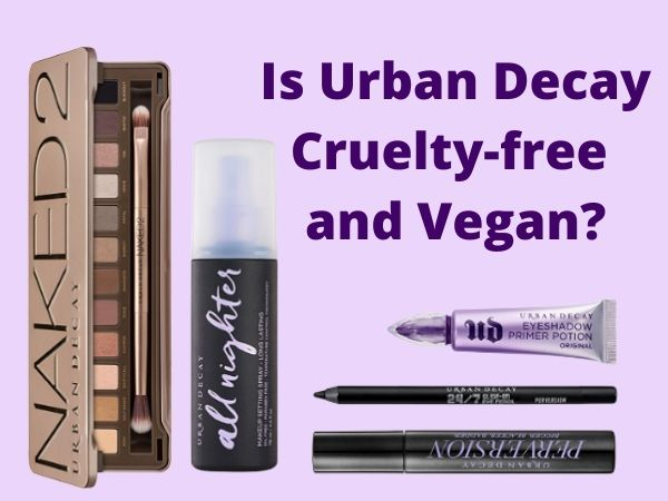 is Urban Decay cruelty-Free and vegan