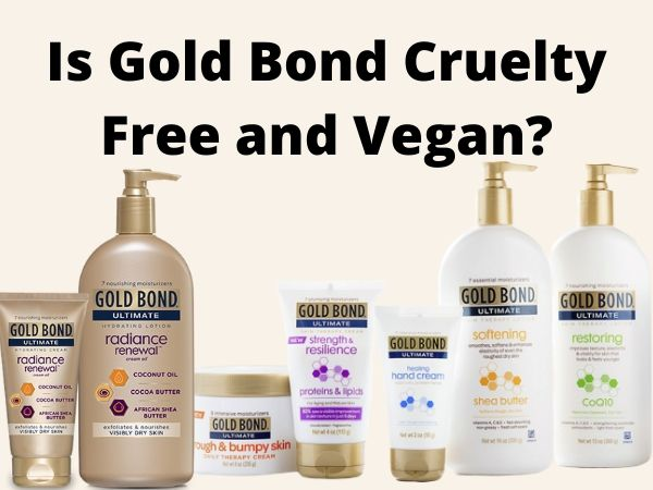 is Gold Bond cruelty-free and vegan
