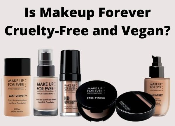 is Makeup Forever cruelty-free and vegan