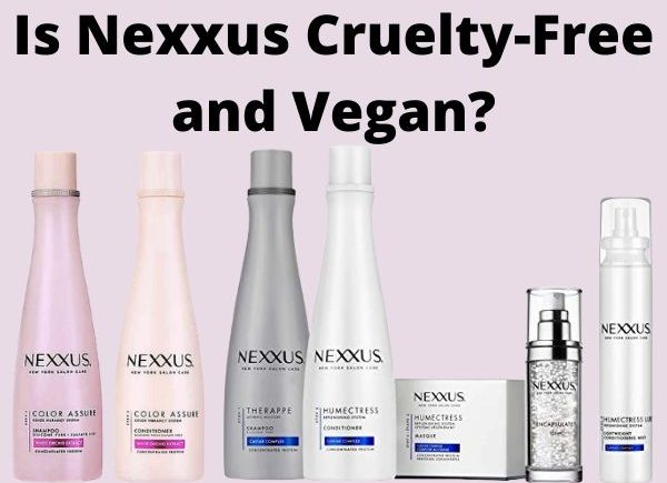 is Nexxus cruelty-free and vegan