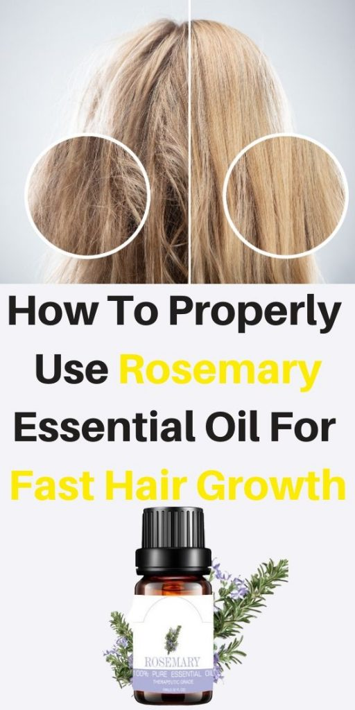 How To Properly Use Rosemary Essential Oil For fast Hair Growth