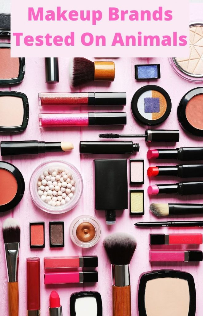 Makeup Brands tested on animals