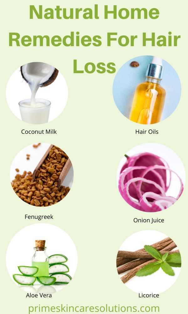 Natural Home Remedies for hair loss