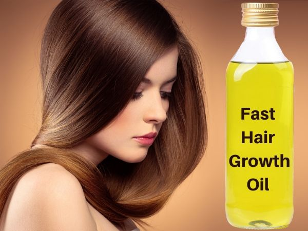 Apply This Oil On Your Hair Roots For 1 Week For Continued Hair Growth