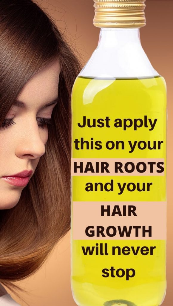 Apply This Oil On Your Hair Roots For 1 Week For fast Hair Growth