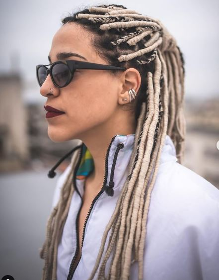 Faux yarn Braids Styles